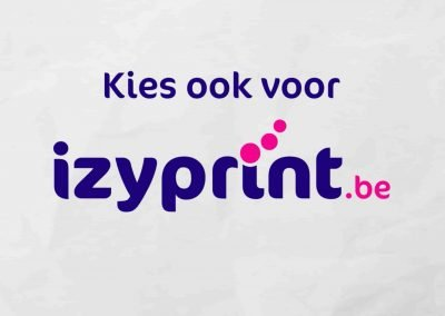 Izy print video animatie reeks